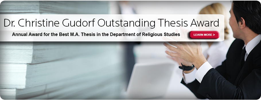 Religious dissertation or thesis